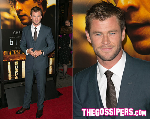 Chris Hemsworth2 Chris Hemsworth presenta Blackhat a Hollywood