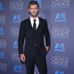 ChrisHemsworth 150x150 Critics Choice Awards 2015: le foto del red carpet