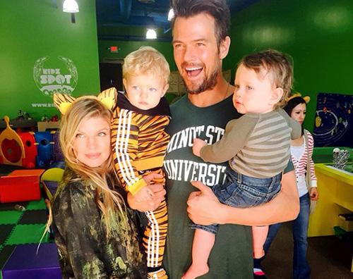 Fergie Josh Axl Un tigrotto biondo per Fergie e Josh Duhamel