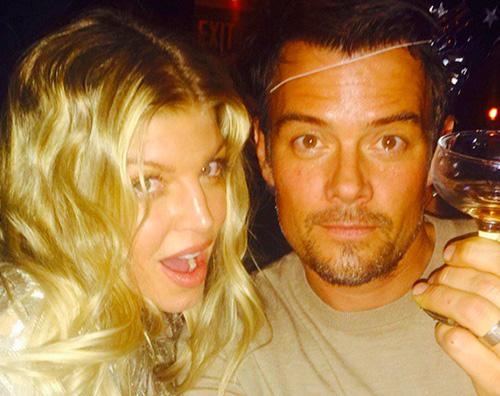 Fergie e Josh Fergie e Josh augurano buon anno su Instagram