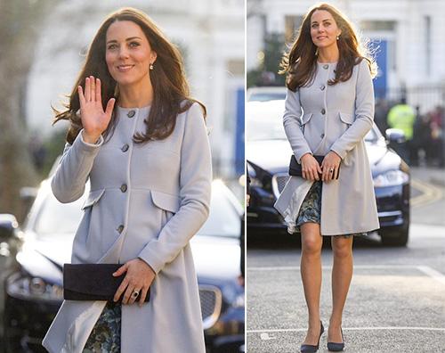 Kate Middleton Kate Middleton: Lo sento scalciare nel mio stomaco