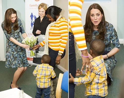 KateMiddleton2 Kate Middleton: Lo sento scalciare nel mio stomaco
