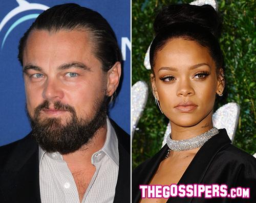 Leo e Rihanna Leonardo di Caprio e Rihanna flirtano al Playboy Mansion