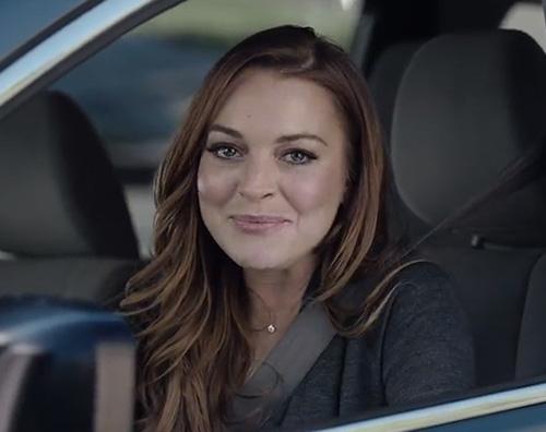 Lindsay Lohan1 Lindsay Lohan protagonista di uno spot per il Super Bowl