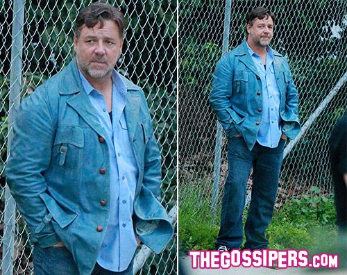 Russell Crowe Russell Crowe appesantito sul set di The Nice Guys