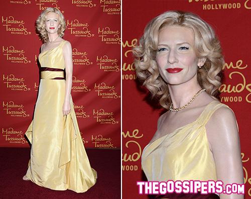 Cate Blanchett Cate Blanchet di cera per il Madame Tussauds