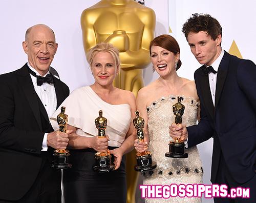 Cover Winners Oscar 2015: il miglior film è Birdman