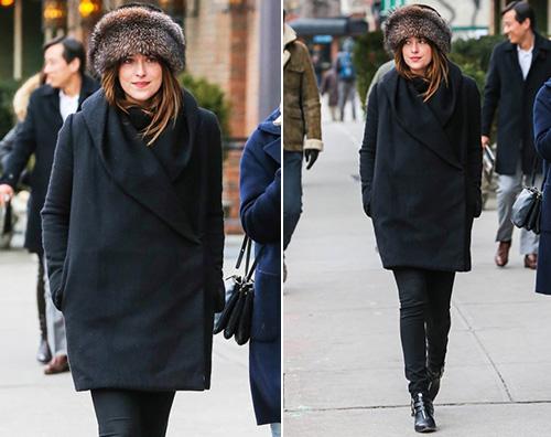 Dakota Johnson4 Dakota Johnson è tornata a New York