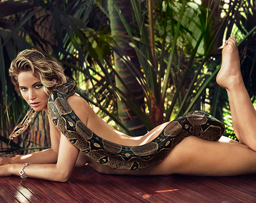 Jennifer Lawrence Jennifer Lawrence nuda per Vanity Fair