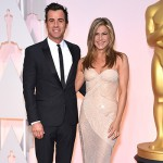 Jenniferaniston JustinTheroux 150x150 Oscar 2015: tutte le star sul red carpet