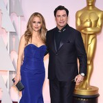 KellyPreston JohnTravolta 150x150 Oscar 2015: tutte le star sul red carpet