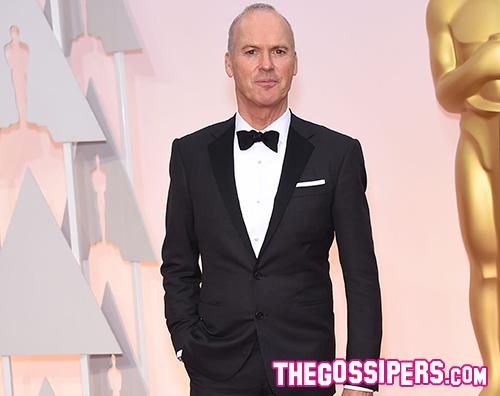 Michael Keaton2 Michael Keaton ripassa il discorso (mai pronunciato) durante gli Oscar