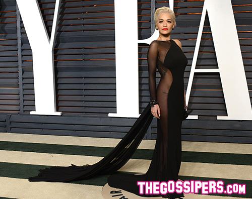 Rita Ora1 Irina Shayk e Rita Ora le più sexy al party di Vanity Fair