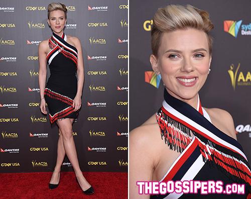 Scarlett Johansson Scarlett Johannson in forma al GDay Gala 2015