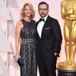 SteveCarell NancyCarell 150x150 Oscar 2015: tutte le star sul red carpet