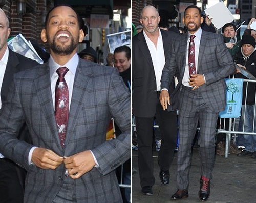 Will Smith Will Smith boscaiolo a New York