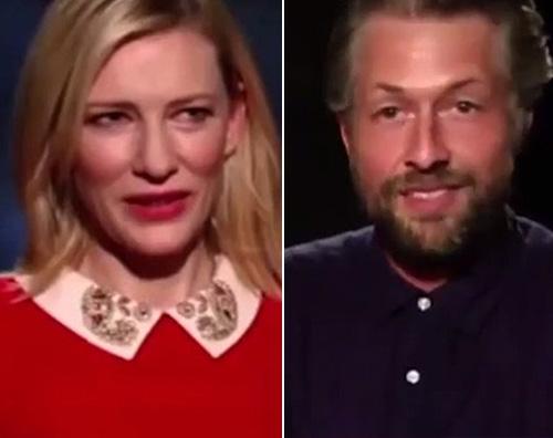 Cate Blanchett AUSTRALIA Kate Blanchett perde la pazienza durante un intervista