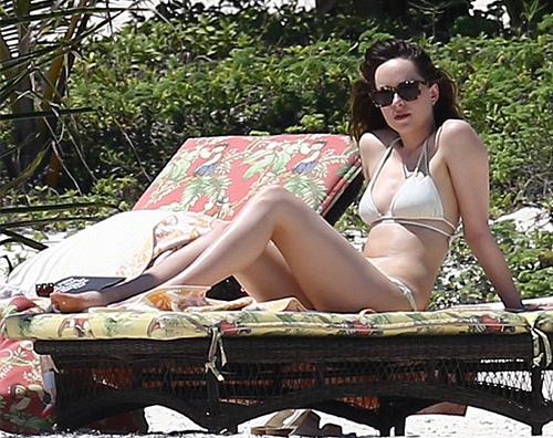 Dakota Johnson Dakota Johnson relax dopo 50 Sfumature di Grigio