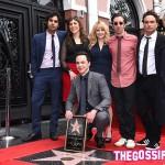 Il cast di The Big Bang Theory 150x150 Jim Parsons riceve la sua stella sulla Walk of Fame