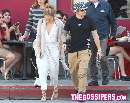 JLO Casper Smary Jennifer Lopez e Casper Smart non si nascondo più