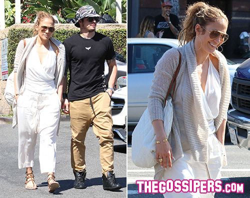 Jennifer Lopez e Casper Jennifer Lopez e Casper Smart non si nascondo più
