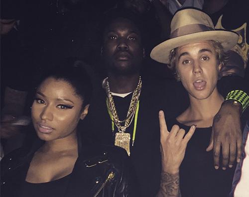 Justin Bieber e Niki Minaj Justin Bieber su Instagram con Nicki Minaj