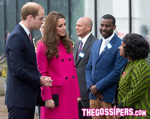 Kate Middleton incinta William Kate Middleton ultima apparizione pubblica prima del parto