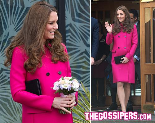 Kate Middleton incinta Kate Middleton ultima apparizione pubblica prima del parto