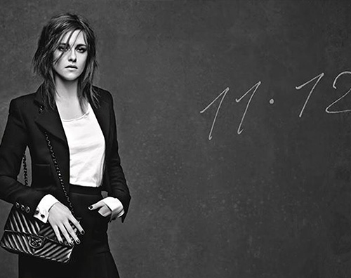 Kristen Stewart Kristen Stewart e Vanessa Paradis muse di Chanel
