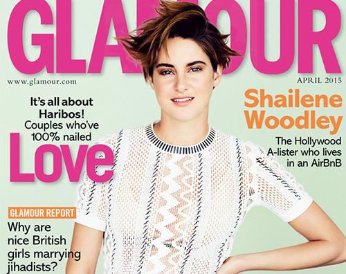 Shailene Woodley Shailene Woodley Sul set sono a mio agio con la nudità