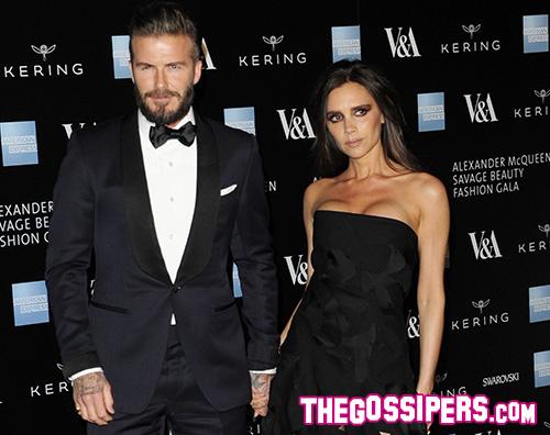 Victoria David Quarantena anche per i Beckham
