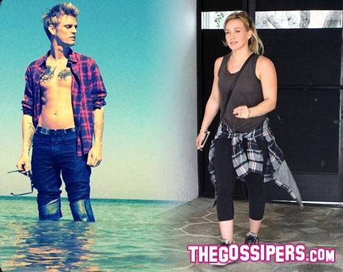 duff aaron Aaron Carter e Hilary Duff: la querelle continua sui social