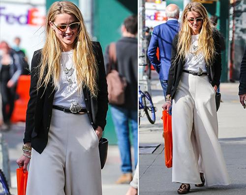 Amber Heard2 Amber Heard shopping a New York