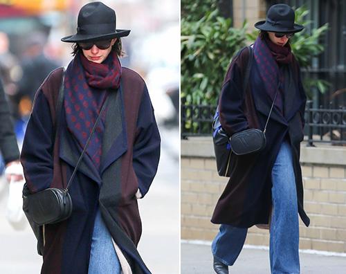 Anne Hathaway Anne Hathaway freddolosa a New York