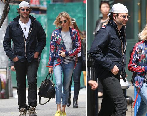 Bradley Sienna Bradley Copper e Sienna Miller, due amici a NY