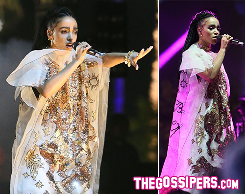 Fka Twigs Robert Pattinson al Coachella per FKA Twigs