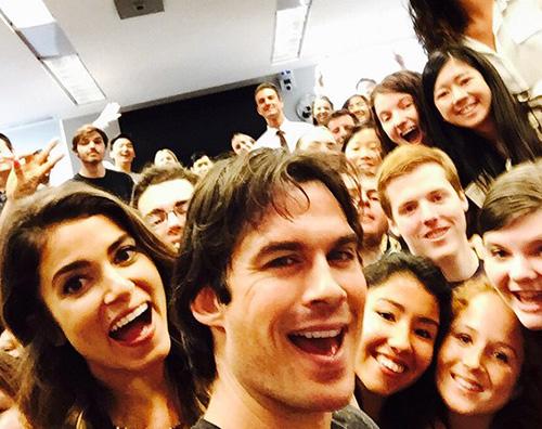 Ian Nikki Instagram Ian Somerhalder e Nikki Reed lezione alla Emory University di Atlanta