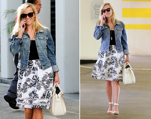 Reese Witherspoon Reese Witherspoon primaverile a Beverly Hills