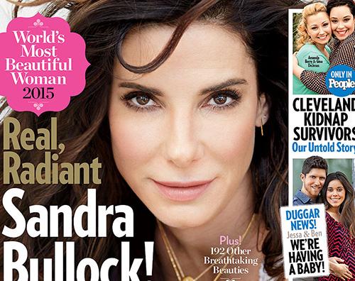 Sandra Bullock Sandra Bullock è la donna più bella del mondo secondo People