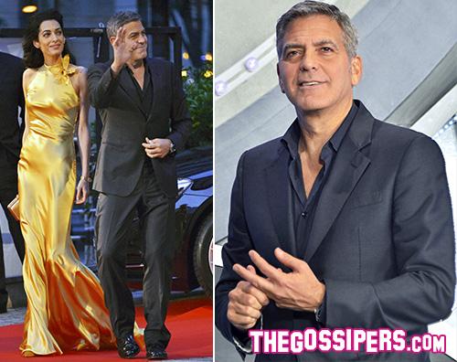 George Amal George Clooney e Amal a Tokyo per Tomorrowland