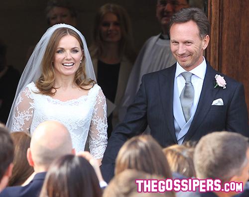 Geri Halliwell abito da sposa Geri Halliwell incinta del secondo bambino!