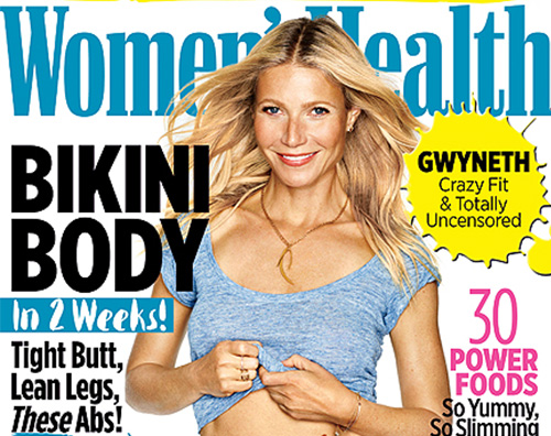 Gwyneth Paltrow Women s Health Gwyneth Paltrow protagonista su Womens Healt