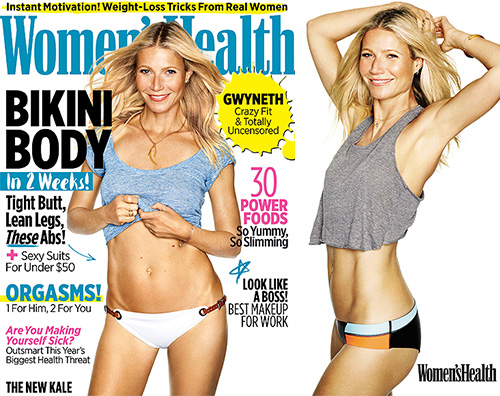 Gwyneth Paltrow Women s Health2 Gwyneth Paltrow protagonista su Womens Healt