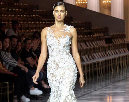 Irina Irina Shayk alla Barcelona Bridal Week