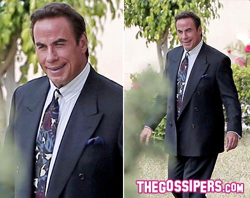 John Travolta John Travolta ringiovanito sul set di American Crime Story