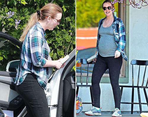 Leighton Meester Leighton Meester è incinta