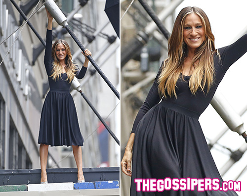 Sarah Jessica Parker 2 Sarah Jessica Parker ritornerà sul set di Sex And The City 3?