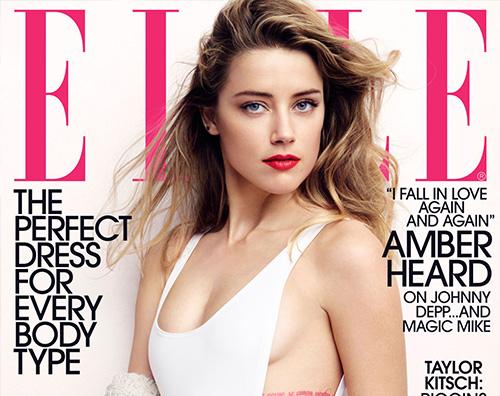 Amber Heard Amber Heard e il matrimonio con Johnny Depp su Elle