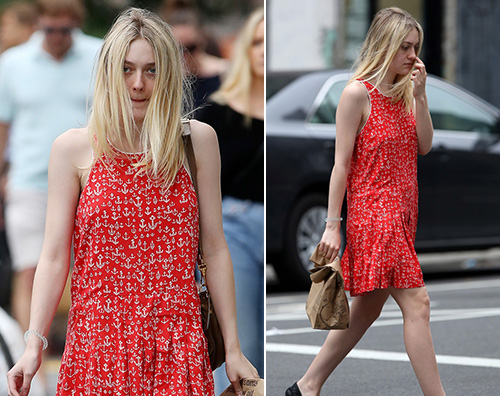 Dakota Fanning Dakota Fanning è una marinaretta a New York