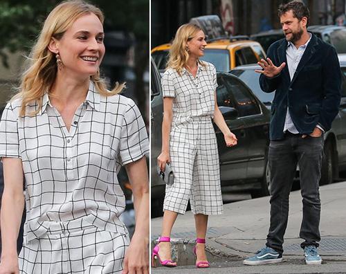 Diane Kruger Joshua Jackson Diane Kruger e Joshua Jackson innamorati a NY